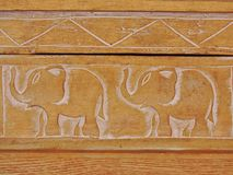 Paz del elefante Foto de archivo libre de regalías