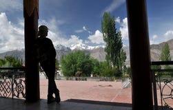 Paz del monasterio Fotografía de archivo