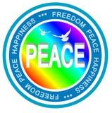 Paz del mundo Fotografía de archivo libre de regalías
