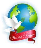 Paz del mundo Fotos de archivo libres de regalías