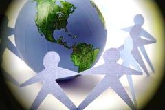 Paz do globo Fotos de Stock