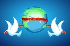 Paz do mundo Imagens de Stock Royalty Free