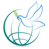 Paz do mundo Imagem de Stock
