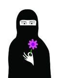 Paz e amor Ilustração Stock