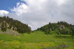 Paz e montanhas montanhas silenciosas fotografia de stock royalty free