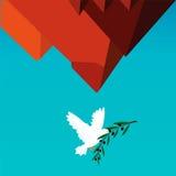 Paz em Egipto ilustração stock