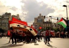 Paz en Gaza Fotos de archivo