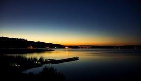 Paz en la bahía Fotografía de archivo