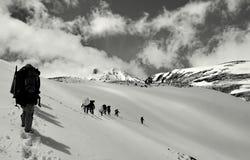 Paz en la mucha altitud Imagenes de archivo