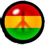 Paz no console ilustração royalty free