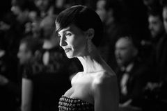 Paz Vega attends the `In The Fade Aus Dem Nichts`. Screening during the 70th annual Cannes Film Festival at Palais des Festivals on May 26, 2017 in Cannes stock image