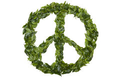 Paz verde Foto de Stock