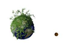 Paz verde Imagens de Stock Royalty Free