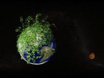 Paz verde Imagen de archivo libre de regalías