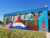 paz y unidad Foto de archivo libre de regalías