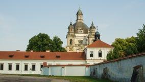 Free Pazaislis Monastery And Church In Kaunas, Lithuania Stock Photo - 43749440