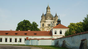 Pazaislis monastery and church in Kaunas, Lithuania Stock Photo