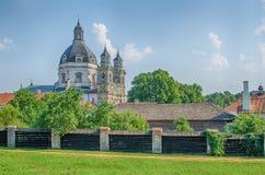 Pazaislis monastery and church in Kaunas, Lithuania Royalty Free Stock Photo