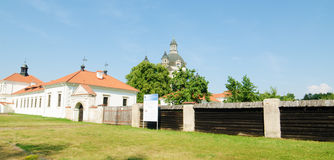 Pazaislis monastery and church in Kaunas, Lithuania Stock Photography