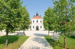 Pazaislis monastery and church in Kaunas, Lithuania Royalty Free Stock Photography