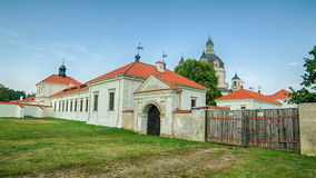 Pazaislis monastery and church in Kaunas, Lithuania Stock Images