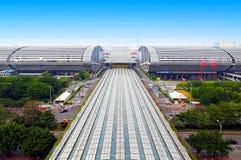 Pazhou complex, guangzhou, china royalty free stock photos