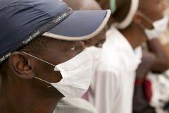 Paziente di TB Fotografie Stock Libere da Diritti