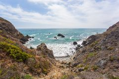 Pazifikküste stockfoto