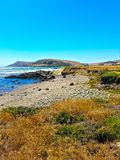 Pazifikküste-Landstraße, San Luis Obispo Co , CA Lizenzfreie Stockbilder
