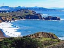 Pazifikküste-Strand in Kalifornien Lizenzfreie Stockfotografie