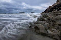 Pazifikküste in Tofino Stockfoto