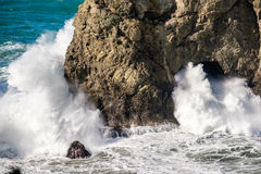 Pazifikküste USA, Bogen-Felsen, Staat Oregon Stockfotografie