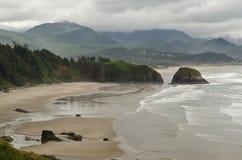 Pazifikküste Oregons Stockbilder