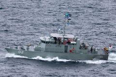 Pazifisch-klassepatrouillenboot HMPNGS Dreger der Papua-Neu-Guinea Verteidigungs-Kraft stockfoto