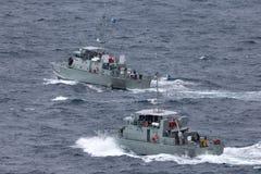 Pazifisch-klassepatrouillenboot HMPNGS Dreger der Papua-Neu-Guinea Verteidigungs-Kraft lizenzfreie stockfotos