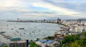 Pazifische Betrachtungsplattform Pattayas Lizenzfreie Stockfotos