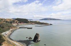Pazifische Küstenlinie im Golden Gate-Nationalpark, San Francisco, USA Lizenzfreie Stockfotografie