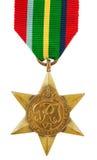 Pazifische Stern-Medaille Lizenzfreies Stockfoto