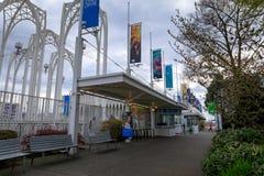 Pazifische Wissenschafts-Mitte in Seattle Stockfoto