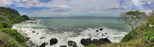 Pazifischer Strand Stockfoto