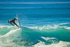 Pazifischer Surfer stockbild
