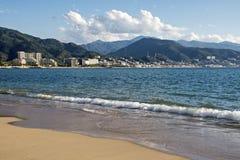 Pazifisches Oean-beliebtes Erholungsort in Mexiko Lizenzfreies Stockbild