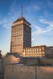 Pazifisches Südwestgebäude Fresnos Stockfoto