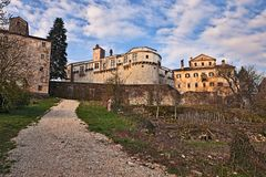 Pazin, Istria, Croatia: the ancient castle in the old town Stock Photography