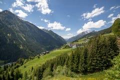 Paznaun-Tal in Tirol Lizenzfreies Stockbild