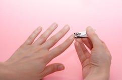 paznokcie opieki zdjęcie royalty free