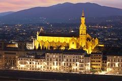 Pazzi Chapel. Florence, Italy Royalty Free Stock Photos