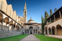 Pazzi chapel Stock Images