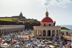 Νεκροταφείο Pazzis στο San Juan Στοκ εικόνες με δικαίωμα ελεύθερης χρήσης