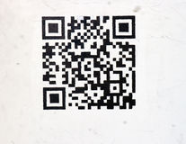 pbhone черни barcode Стоковые Фото